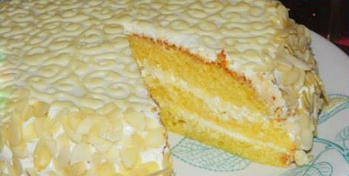 Tort delicios, cu cremă fină de brânză și lămâie – un desert gingaș și rafinat!