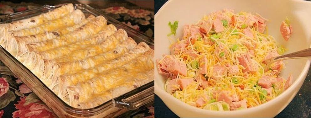 Rulade cu șuncă, pui și cașcaval – un deliciu demn de masa de sărbătoare! Doar priviți cât de repede se prepară!