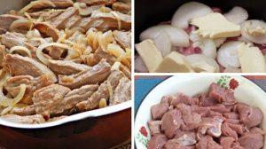Carne extrem de gingașă preparată după o rețetă ucrainească. Carnea pur și simplu se topește în gură!