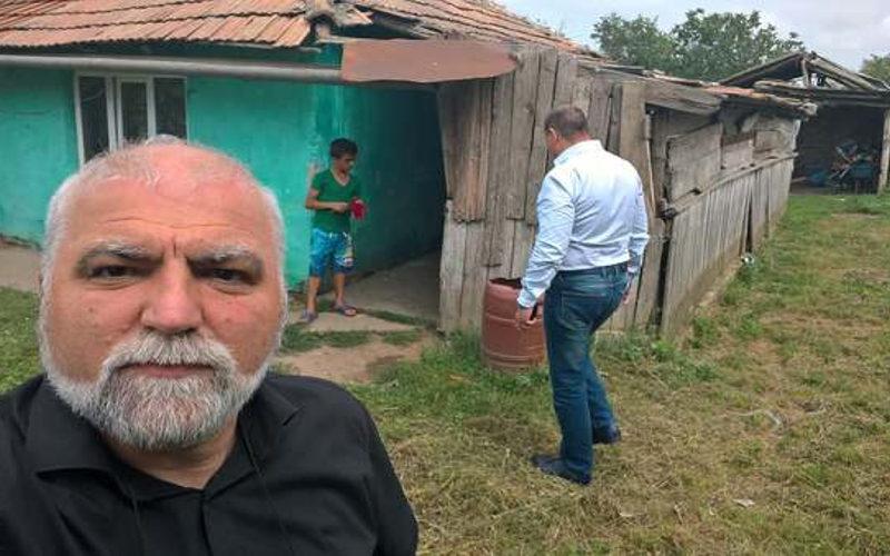 Un preot din Olt a renovat casa unor copii orfani în doar 8 zile! Iată cum arăta locuința înainte și cum arată acum