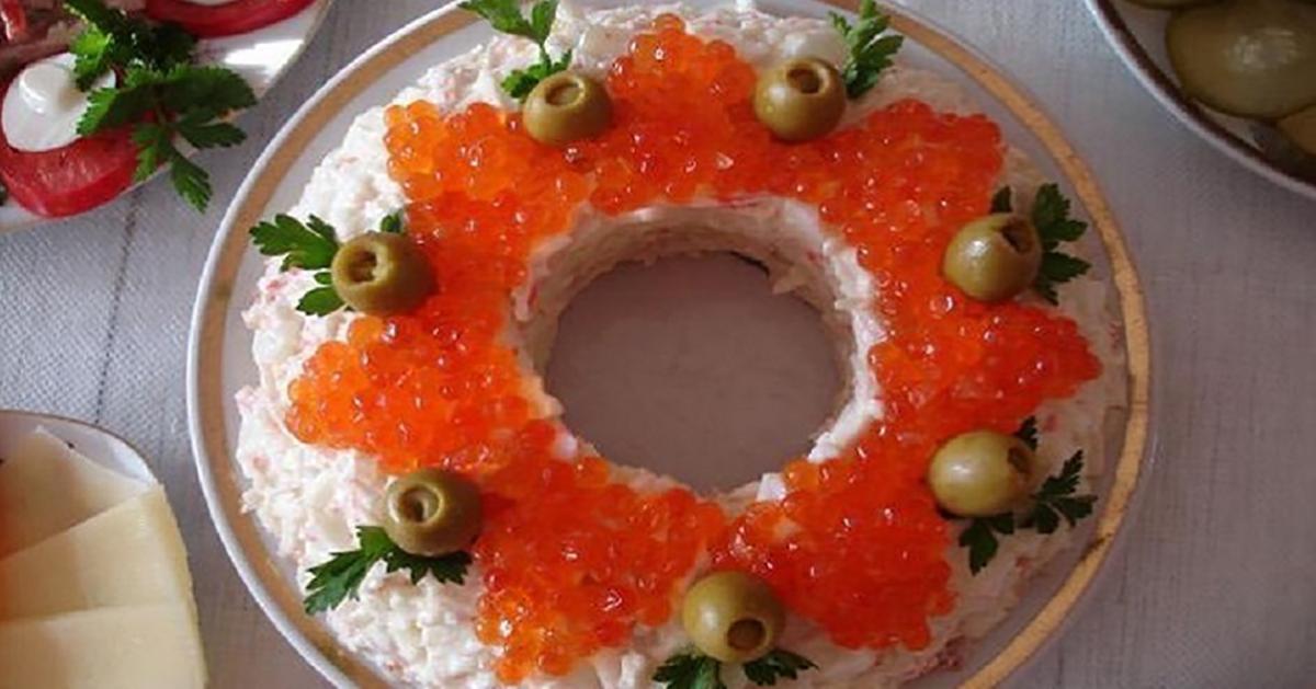 """Salată rafinată """"Împărătească"""", vedeta pe masa de sărbătoare!"""