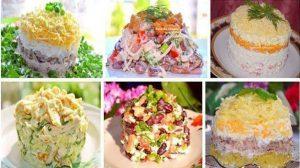 6 salate incredibil de gustoase pentru masa de sărbătoare. Uimiți-i pe cei dragi cu gustări rafinate!