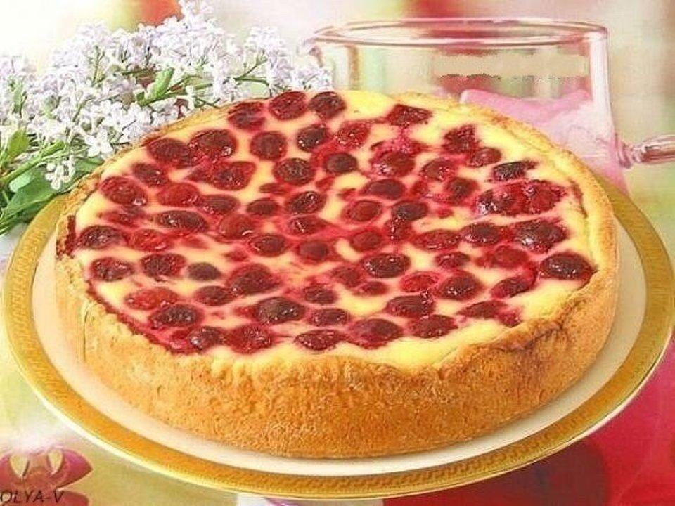 Prăjitură cu smântână și fructe de pădure extrem de aromată și delicioasă