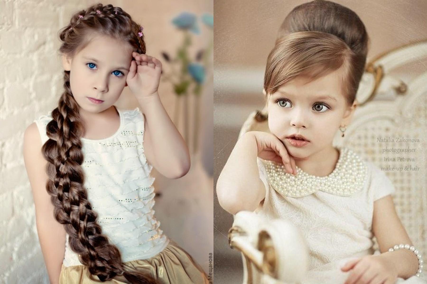 Coafuri frumoase și la modă pentru copii