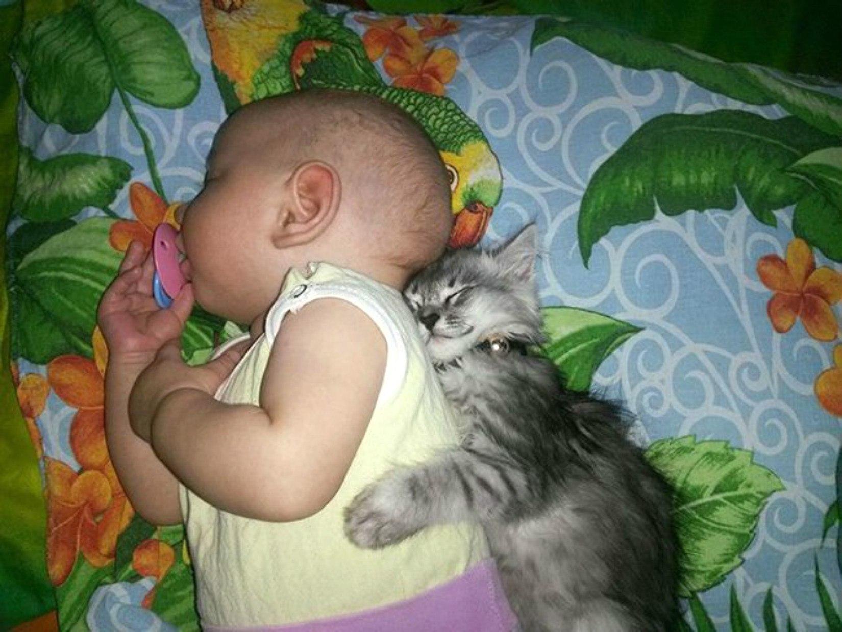 Fotografii care demonstrează legătura extraordinară între copil și animalul său de companie
