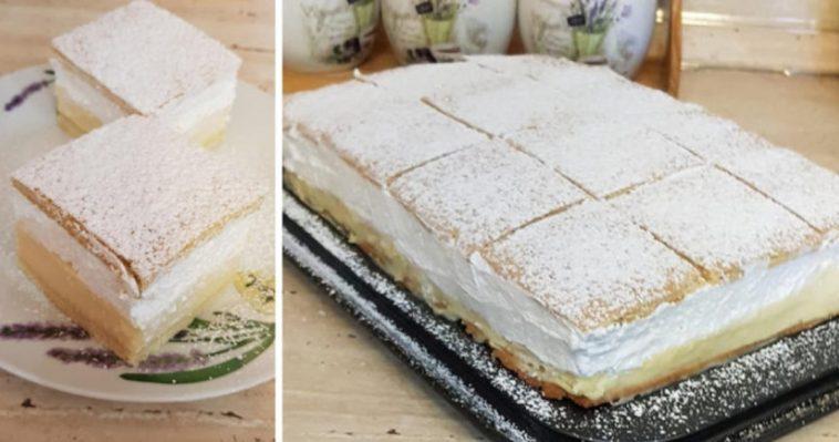 Ce puteți face cu puțin lapte și frisca – un desert delicios cu crema