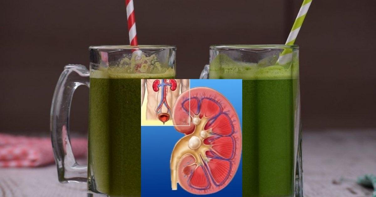 Suc pentru detoxifierea rinichilor
