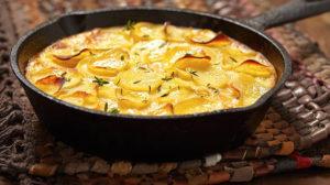 Tartă de cartofi la tigaie – cea mai simplă masă