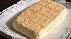 Desertul delicios cu cremă și biscuiți, gata cât ai clipi!