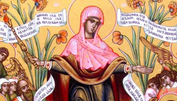 """Rugăciune zilei de joi către Preasfânta Născătoare de Dumnezeu înaintea icoanei sale """"Bucuria tuturor necăjiţilor"""""""