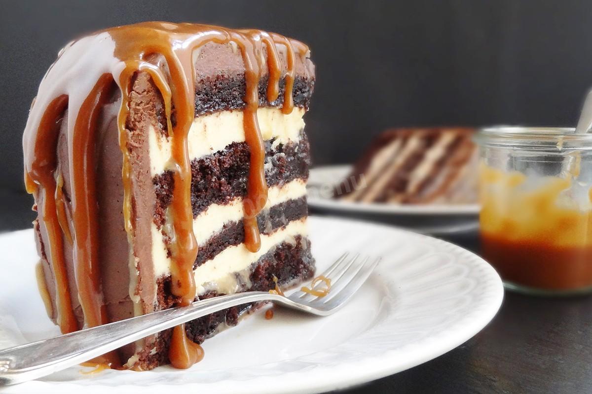Prajitura cu caramel. Rapid si delicios!