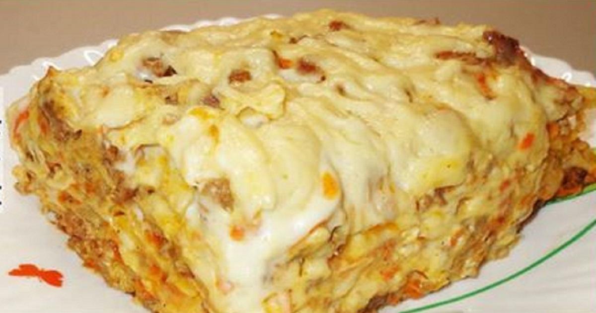 Lasagna de casă – cea mai simplă rețetă pentru o cină superbă în familie!