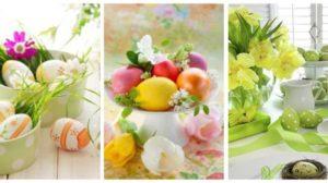 Cele mai frumoase idei de decoratiuni care coloreaza sarbatorile Pascale