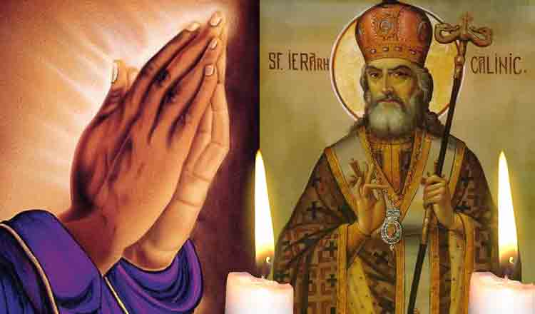 Rugăciunea Sfântului Calinic pentru fericire și bunăstare