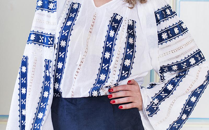 """Simbolurile de pe ia românescă reprezintă """"codul genetic"""" al neamului nostru"""