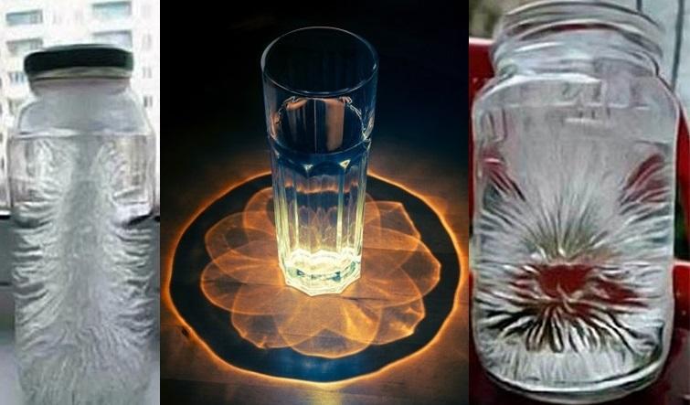 Un pahar cu apă, sare și oțet poate detecta energia negativă din casă