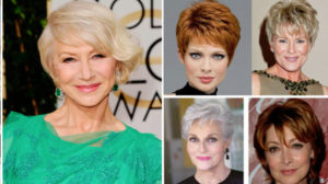 Tunsori la modă, pentru doamnele de peste 50 de ani. O coafură bună întinerește