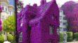 Sunt cu adevărat uimitoare – Cele mai frumoase 13 case din lume, bogate în culorile florilor