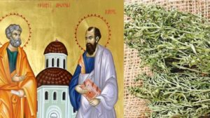 De Sfinții Petru și Pavel, etnologii ne sfătuiesc să purtăm în buzunare puțin pelin