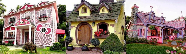 Aceste case micuțe vă vor face să vă simțiți ca în povești