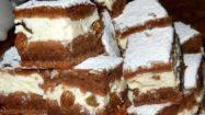 Prăjitură cu brânză dulce și cacao, foarte aromata si gustoasăa! – Se prepară foarte ușor