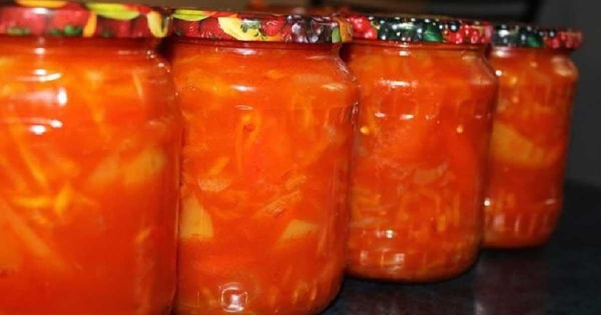 Lecho, ghiveci tradițional unguresc la borcan, fără oțet și ulei! Cea mai sănătoasă conservă pentru iarnă