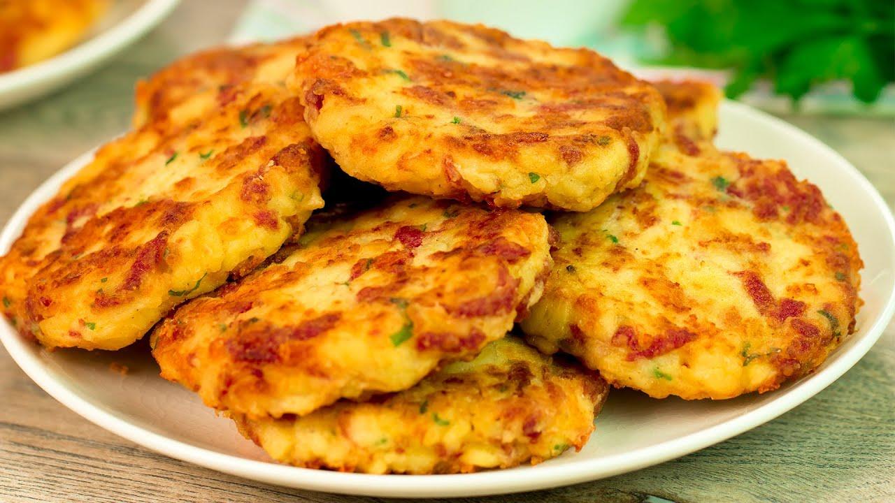 Şniţele din cartofi – vă va fi foarte greu să vă opriți din mâncat!