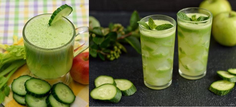 Sucul de castraveți și mere: crește imunitatea, reduce colesterolul și este bun pentru intestin